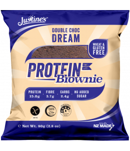 JUSTINE'S протеиновое печенье темный шоколад