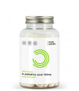 D Aspartic Acid Capsules 750mg Gélules d'Acide D-Aspartique 750mg